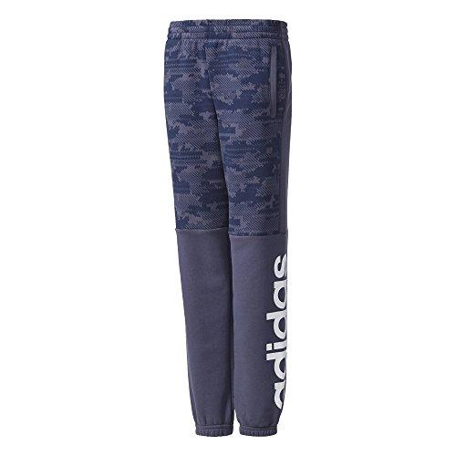 adidas Essentials Linear, Pantalones para Niños, Azul (Trace Blue/Collegiate Navy/White), 134