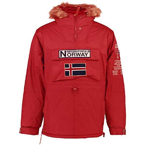 Geographical Norway Parka BOOMERANG niño ROJO talla 14