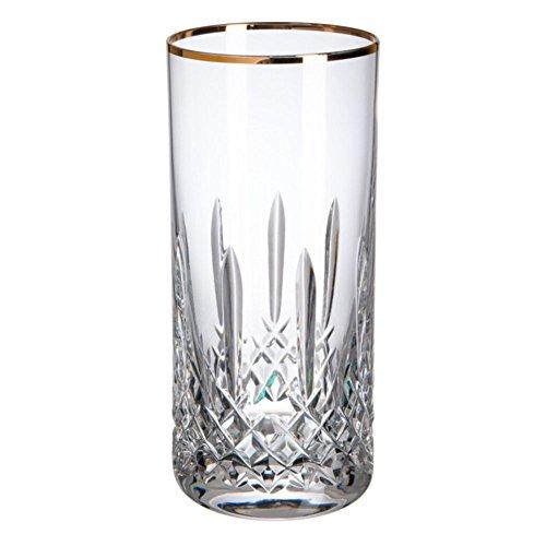 Cristal de Bohemia Blues Filo Vasos Altos, Cristal, 32x24x8 cm, 6 Unidades