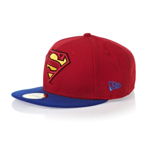 New Era 59Fifty Reverse Hero 2 Superman Cap - Red/Blue