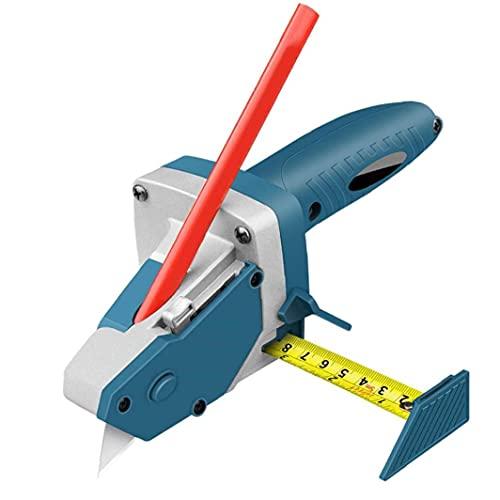 Equipo portátil de corte de placas de yeso, todo-en-uno la herramienta de mano de corte de placas de yeso con cinta métrica y multi-función herramienta herramientas industriales