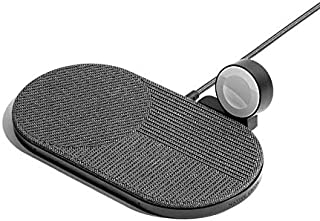 Native Union Drop XL Wireless Charger (Watch Edition) – Multi-Device Charging pad for iPhone & Qi Compatible Devices with ...
