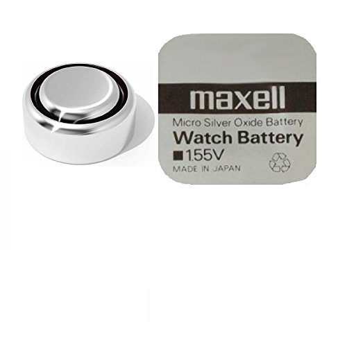 Pila de Botón Batería Óxido de Plata Maxell 377 / SR626-SW para Reloj (1.55V, 10 Unidades)