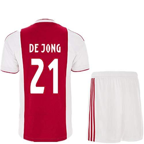NBN15121 AJAX 19-20 casa Camiseta de Manga Corta Liga de Campeones versión 10 Tadic 21 Derong Traje de Ropa de fútbol