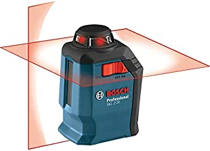 Bosch GLL2-20-RT Self-Leveling 360 Degree Line and Cross Laser (Renewed)