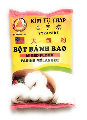 Bot Banh Bao (Mixed Flour) - 16oz (Pack of 3)