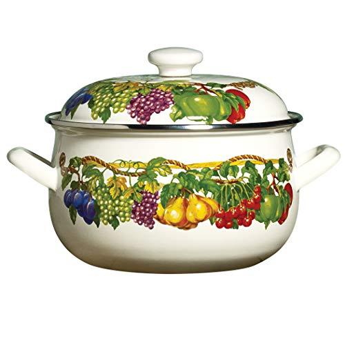 Kensington Garden Collection - Molde antiadherente de porcelana esmaltada antiadherente para horno