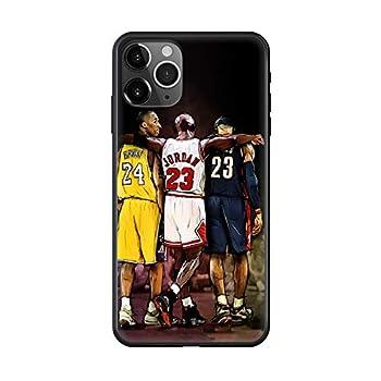 Basketball Player James Jordan Phone Case Cover for iPhone 4 4S 5 5C 5S 6 6S Plus 7 8 X XR XS 11 PRO SE 2 MAX Black coque-1-iPhone 5c