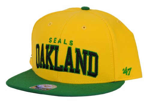 47 Brand Golden Seals Snapback Casquette Bloc Shed