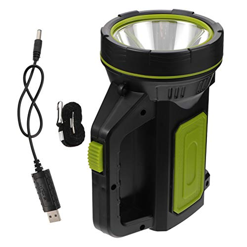 YARNOW LED Camping Lantern Rechargeable Flashlight Emergency Lamp USB Charging Flashlight Waterproof for Outage Fishing Hiking Emergency Hurricane Home