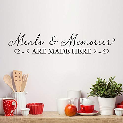 Sticker mural Meals & Memories – Meals Memories are Made here
