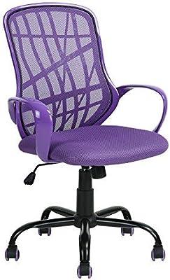 FURNISH 1 gitterartig Diseño Silla de Oficina Red, función reclinable Espalda y reposabrazos – Ergonómica