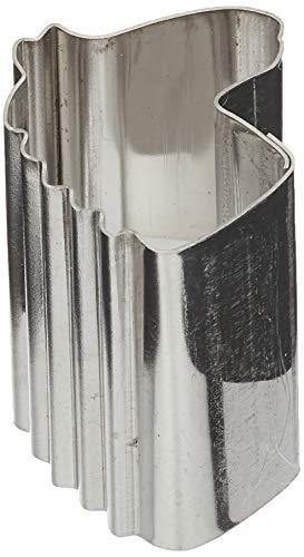 Städter Ausstechform Pferdekopf, Edelstahl, Silber, ca. 1,5 cm Mini