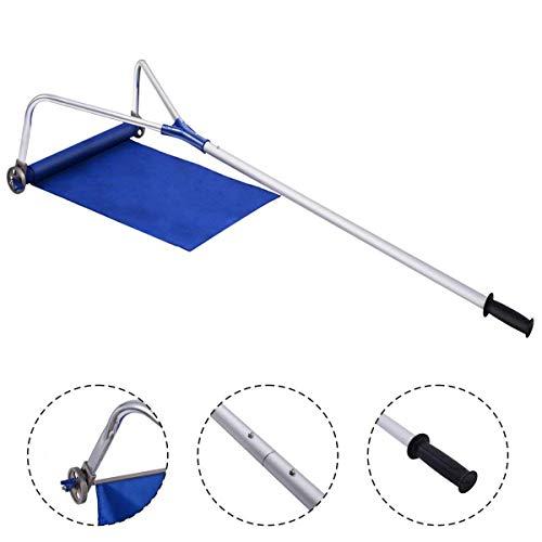 YANGLIUYL Werkzeug Zum Entfernen des Daches Für Schneefräsen für Dach Schlitten mit justierbarem Teleskopstiel 20 ft Mit Verstellbarem Teleskopgriff