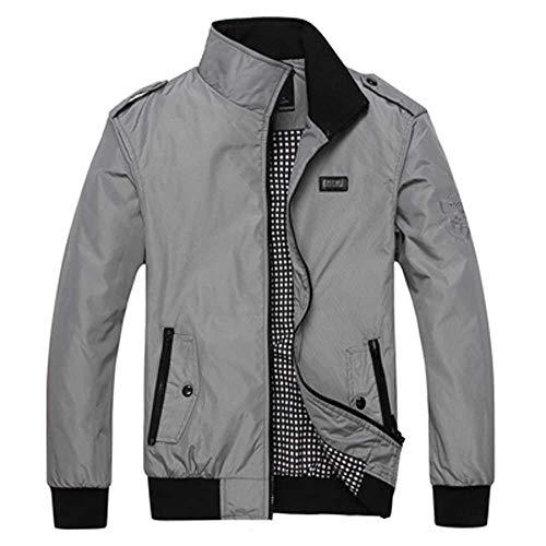 Herren Frühling Winter Jacken Mantel Herren Sportswear Motorrad Herren Thin Slim Fit Bomberjacken für Herren Markenkleidung 5XL Oberbekleidung