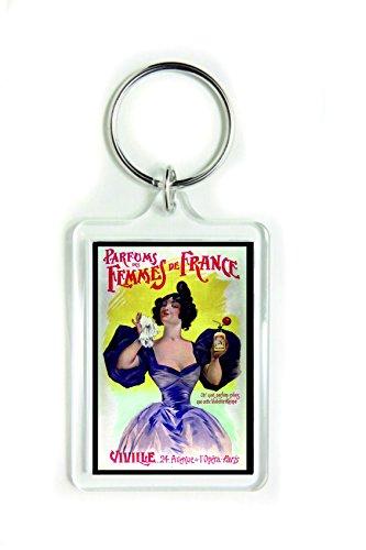 Parfums Femmes de France Schlüsselanhänger aus Acryl