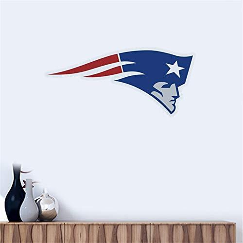 Wandtattoo New England Patriots Team Logo Wandaufkleber Vinyl Wandaufklebe