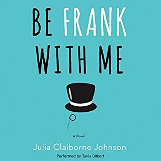 Be Frank with Me audiobook cover art