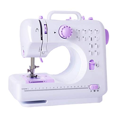 New Portable Sewing Machine Sewing Machine Factory Household Knitting Electrical Mini Portable DC Po...