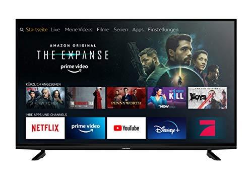 Grundig Vision 8 - Fire TV Edition (65 VAE 80) 164 cm (65 Zoll) Fernseher (Premium Ultra HD, Alexa-Sprachsteuerung, HDR) [Modelljahr 2020]