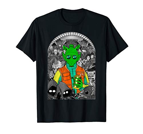 Star Wars Mos Eisley Cantina Where's Greedo? Graphic T-Shirt