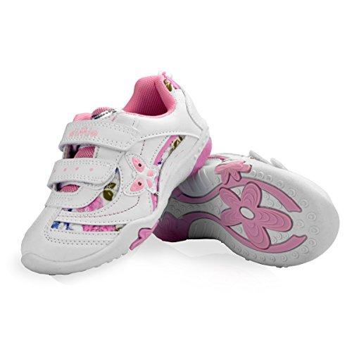 diMio Stella 2 Kinderschuhe mit Blinkfunktion - Blinkschuhe Mädchen Schuhe - Größe EU 25-31 (EU 30)