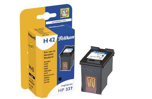 Pelikan 4103130 - Cartucho de tinta HP DeskJet 5940, 6310, 2570 - HP 337 - NEGRO