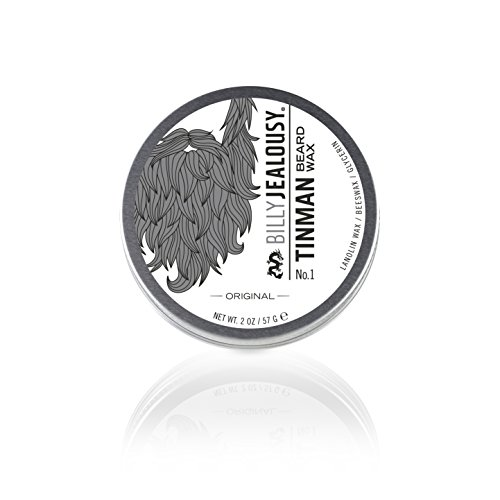 Billy Jealousy Tin Man No. 1 Nourishing Styling Beard Wax, 2 oz