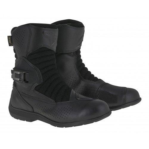 Alpinestars Multiair XCR Gore-Tex Men's Street Motorcycle Boots (Black, EU Size 43)