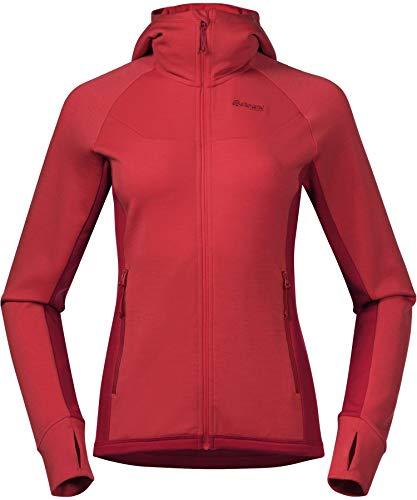 Bergans Cecilie Wool Hood Jacket Women - Fleecejacke