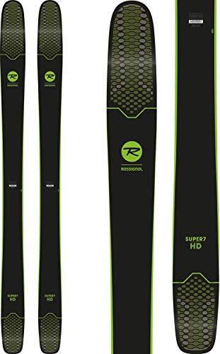 Hombre Freeride de esquí Rossignol Super 7HD 1882018Esquí, negro/verde, talla única