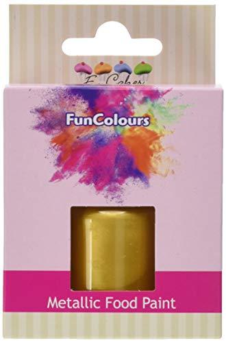 FunCakes FunColours Metallic Food Paint Gold 30ml