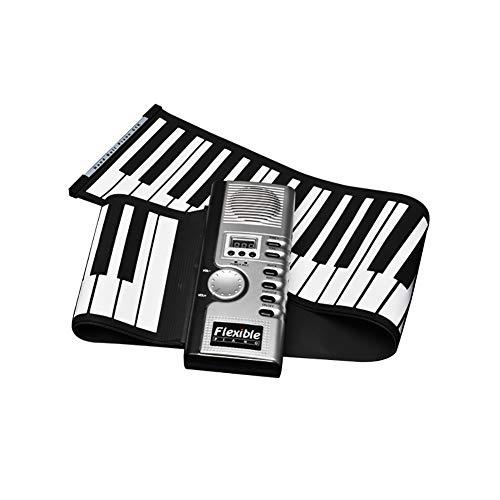 NUYI 61 Key Hand-Rolled Piano Big Horn spielt die Tastatur, die geöffnet ist Portable Version Anfänger Kinder