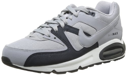 Nike Air Max Command, Schuhe Sport-Mann, Grau - Gris (Wolf Grey/Wolf Grey/Drk Obsdn) - Größe: 42.5