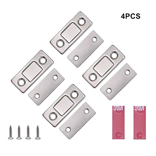 Voarge Magneetkast met magneetsluiting, ultradunne kastdeur, magneetsluiting, kastdeur, deurmagneet, deuren, meubelmagneten voor keukenkast, magneetslot