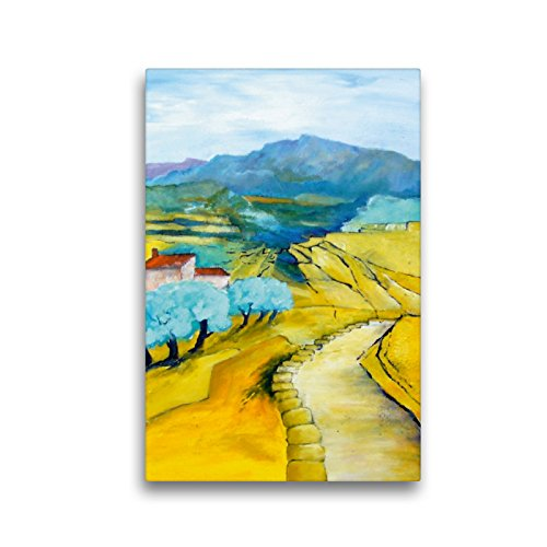 Premium Textil-Leinwand 30 x 45 cm Hoch-Format Es Pla - Mallorca | Wandbild, HD-Bild auf Keilrahmen, Fertigbild auf hochwertigem Vlies, Leinwanddruck von Brigitte Dürr