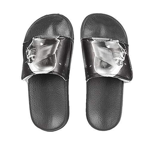Star Badelatschen Sommer Hausschuhe Kinder Pantoletten Duschschuhe Badeschuhe rutschfeste Sandalen Pantoffeln Schlappen Slide Slippers Schuhe Wars (Numeric_32)