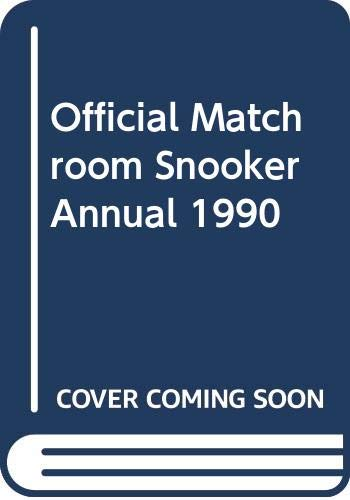 Official Matchroom Snooker Annual 1990