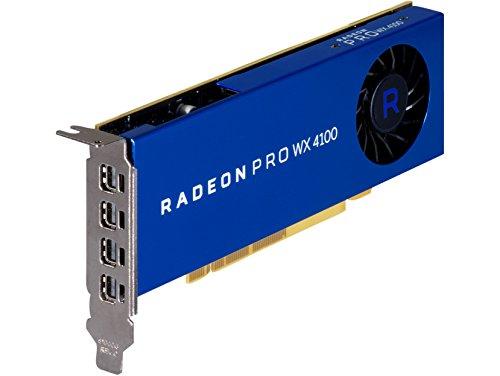 HP AMD Radeon Pro WX 4100 4GB FirePro W4100 GDDR5 - Tarjeta gráfica (FirePro...