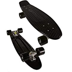 WHAT YOU NEED: Are you on the search for an amazing skateboard stand? We have the answer: the premium classic skateboard, your go-to-choice that allows you to stand out and have endless hours of fun while improving your skating level. PREMIUM QUALITY...