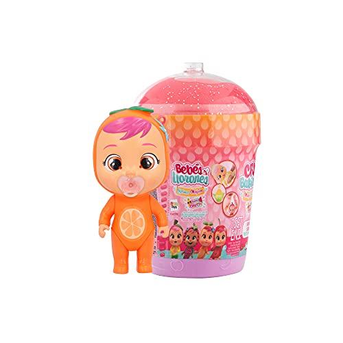 Bebés Llorones Lágrimas Mágicas Casita Tutti Frutti Mini muñeca sorpresa coleccionable con olor a fruta, juguete niña y niño +3 años