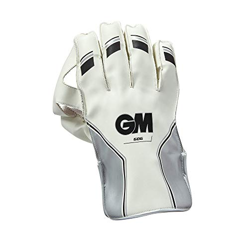 GM 606 Kids '2018 Wicket Keeping handschoenen, zilver, één maat