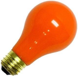Bombilla estándar incandescente de color Naranja 25W E27