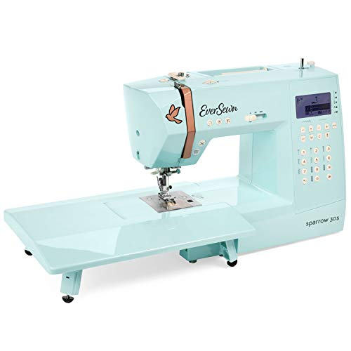 EverSewn Sparrow 30s Sewing Machine : Computer-Controlled, 310 Stitch Patterns, 2 Full Alphabets -...