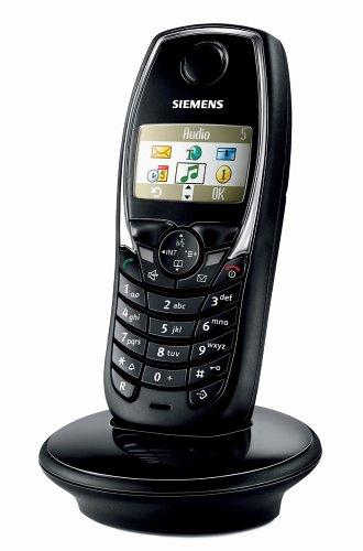 Siemens Gigaset SL1 COLOR Mobilteil DECT LACKSCHWARZ
