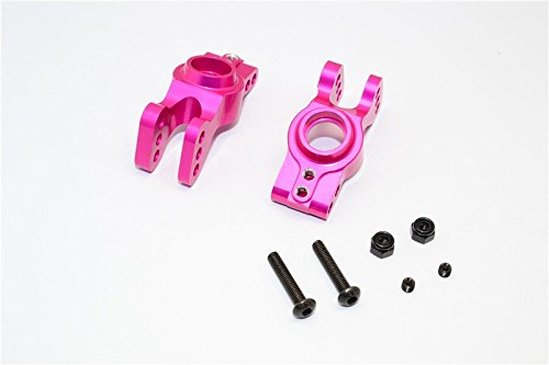 GPM Axial EXO Upgrade Pièces Aluminium Rear Knuckle Arm - 1Pr Set Pink