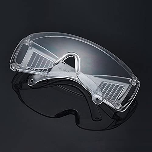 Morninganswer Gafas de protección para el Trabajo Inicial Gafas Protectoras de Infrarrojos Lentes de PC Antivaho Anti-UV Antiimpacto Ropa para los Ojos Blanco