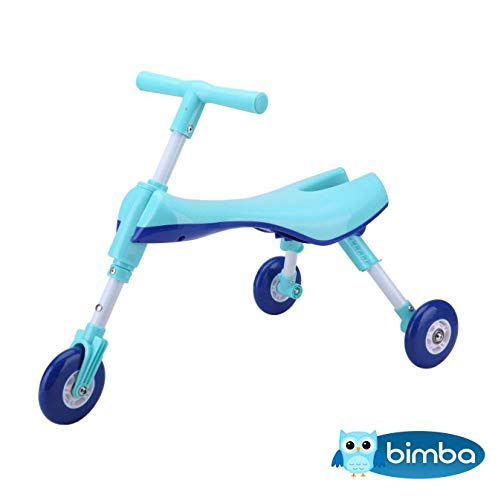 ZUGATI Toddler Scooter Bike First Scooter 2 in 1 Scooter for Kids 3 Wheel Kick Scooter with Foldable Baby Scooter, Perfect for Toddler Girls & Boys