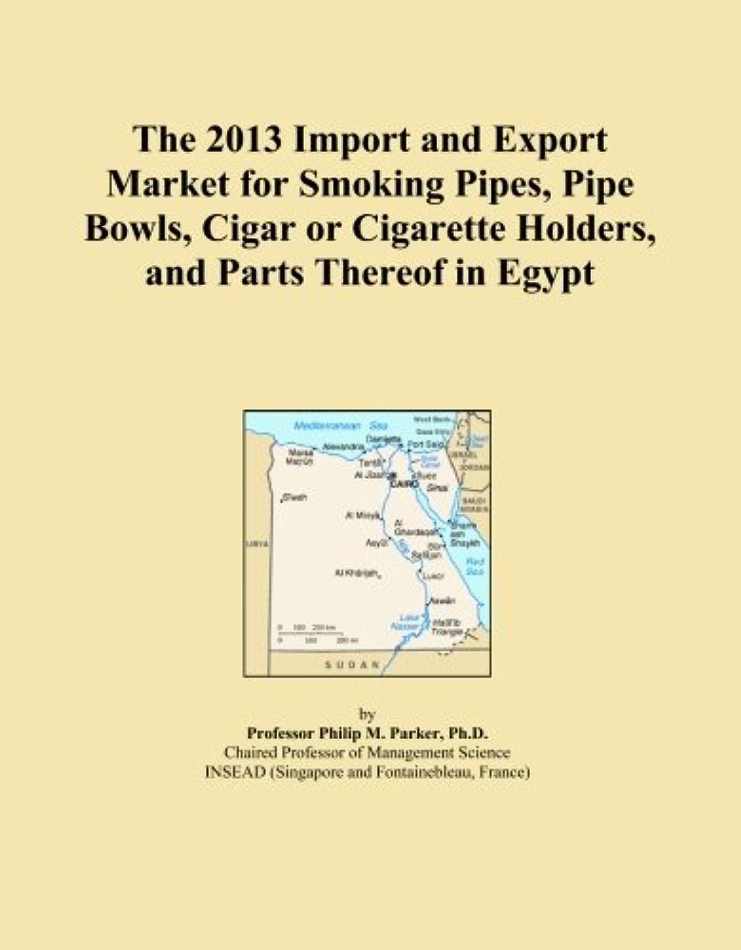 クック大宇宙そのThe 2013 Import and Export Market for Smoking Pipes, Pipe Bowls, Cigar or Cigarette Holders, and Parts Thereof in Egypt