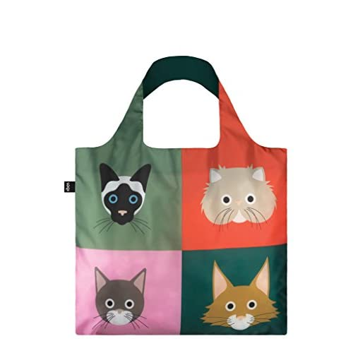 LOQI STEPHEN CHEETHAM Cats & Dogs Reusable Shopping Bags/Totes
